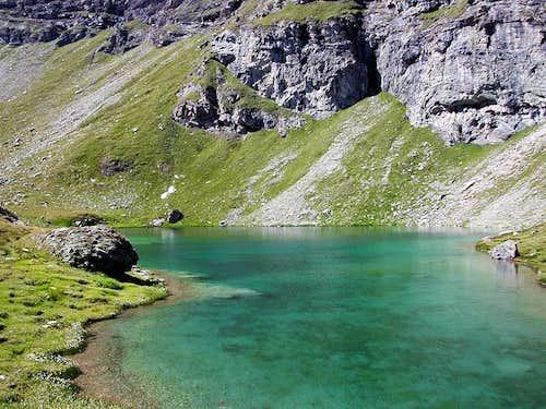 Il lago Lungo (Brusson)