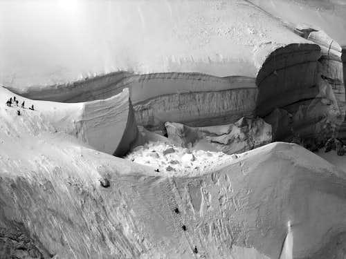 Glacier du Bossons (Monte Bianco)