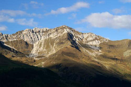 Weiße Wand and Hohe Kreuzspitze / Monte Altacroce