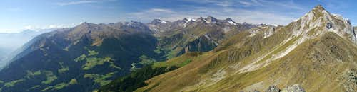Ötztal Alps Main Ridge and Hohe Kreuzspitze