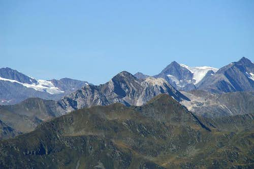 Hohe Kreuzspitze / Monte Altacroce