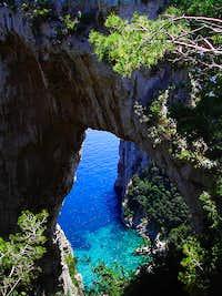 the Arco Naturale di Capri