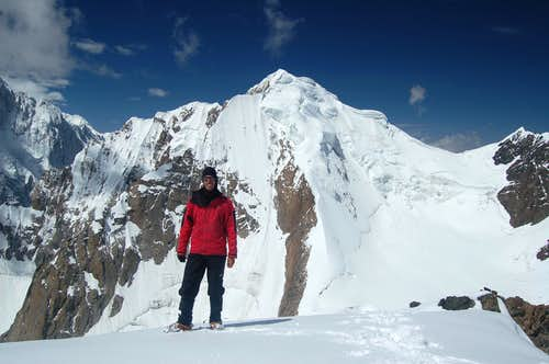 On the summit on Ghorhil Sar