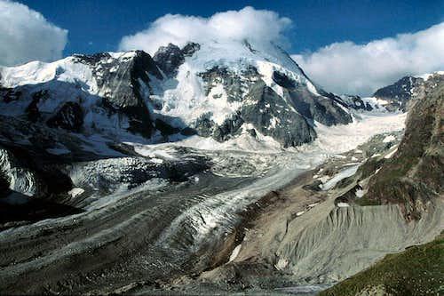 View from above the Zmuttgletscher