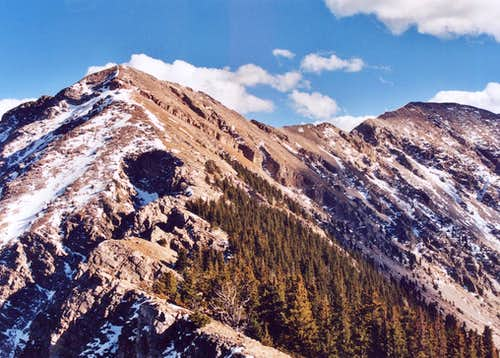 N. Ridge of N. Truchas