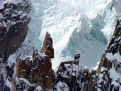 Glacier du Géant (Mont Blanc du Tacul)