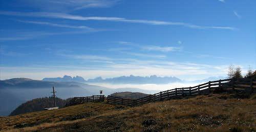 Dolomiti from Stoanerne Mandln (Sarntal)