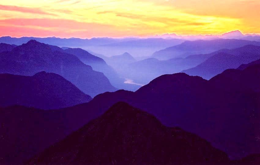 Fraser Valley Sunset