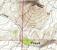 3D Topo of  C  Hill Route