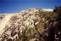 The north face of Jepson Peak.