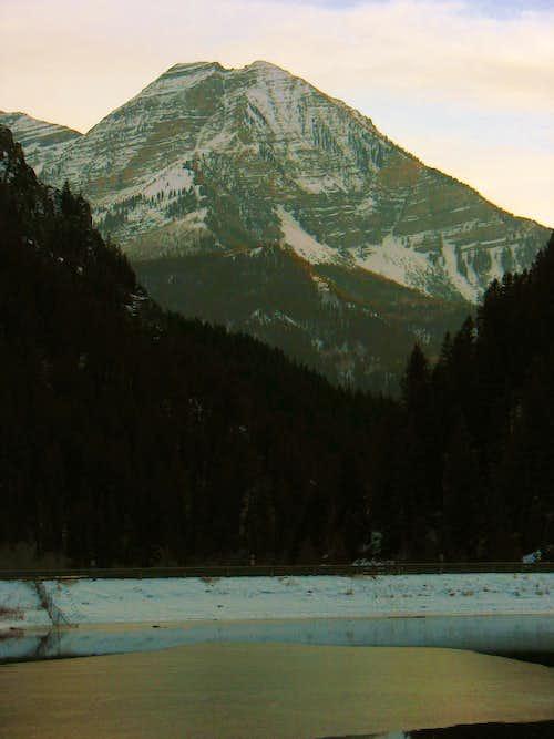 North Timp from Tibble Fork Reservoir
