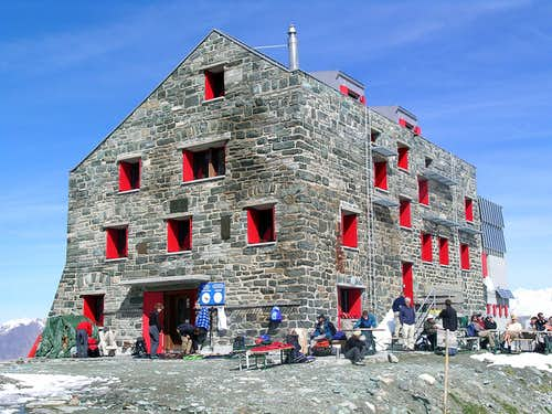 Brittaniahütte. September 2006
