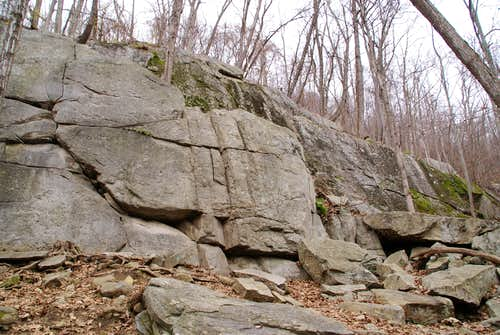 Saint John\'s Ledges - Lower Wall