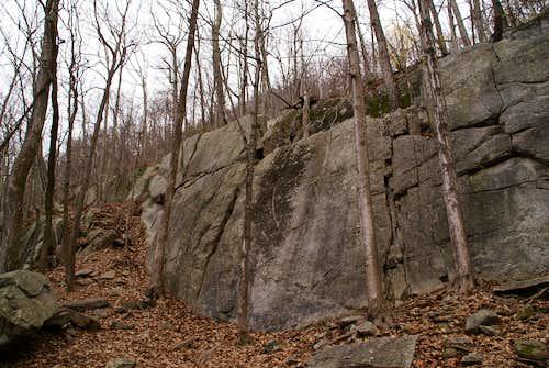 Saint John's Ledges - Lower Wall