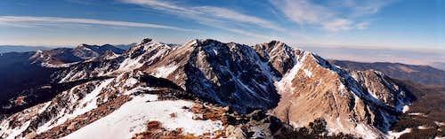 Truchas Peaks Panorama
