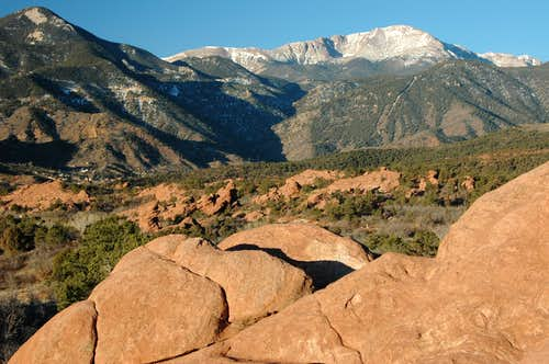 Pikes Peak and the Fountain Formation