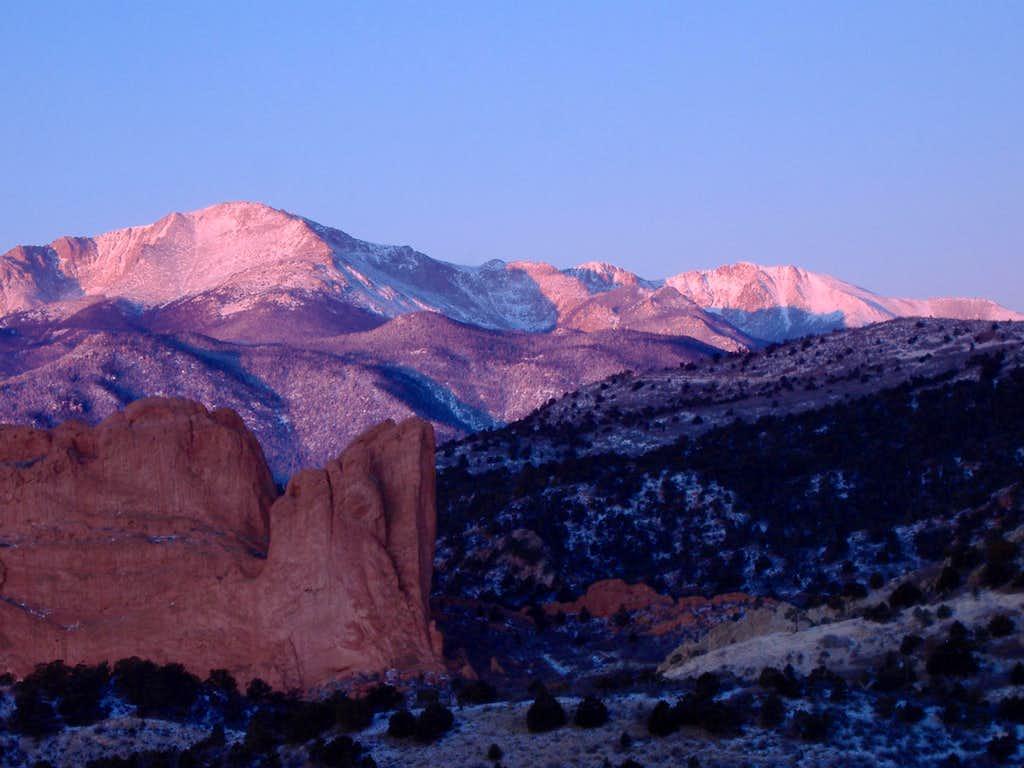 Purple mountain majesty photos diagrams topos for Mountain majesty