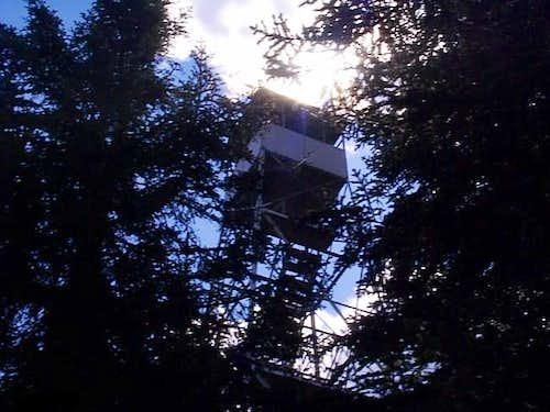 Firetower. 7-30-03