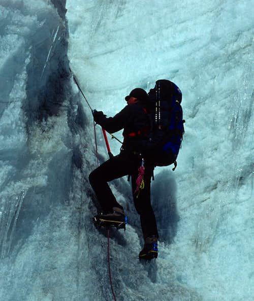 Climbing the Amphulapcha La