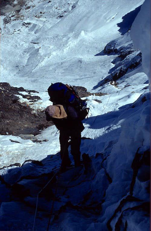 Rappel into Khumbu