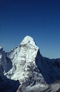 Ama Dablam from Island Peak