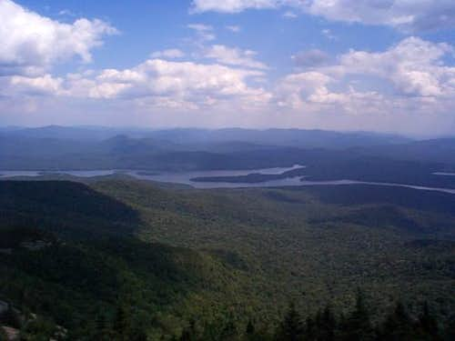 E to Indian Lake from tower....