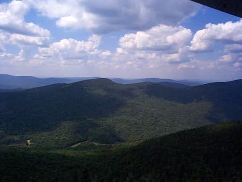 SW from Snowy tower. 7-30-03