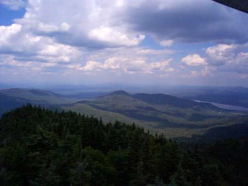 North from Snowy tower. 7-30-03