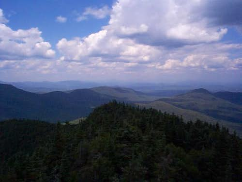 NW from Snowy tower. 7-30-03
