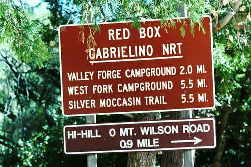 Red Box Trailhead