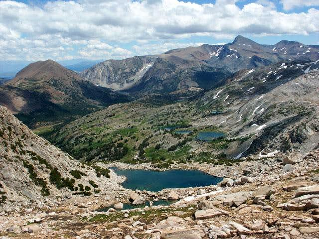 Alpine Lake from the East...