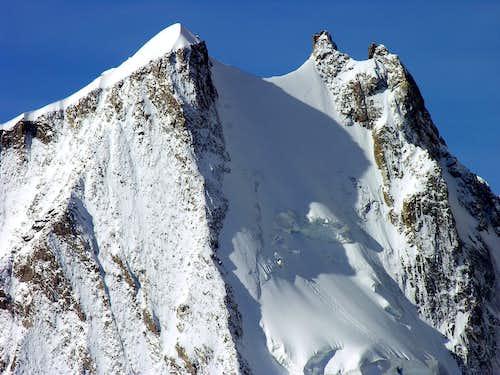 Aiguille Blanche de Peuterey (4112 m.) 20 settembre 2006
