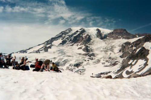 Base of the Muir Snowfield