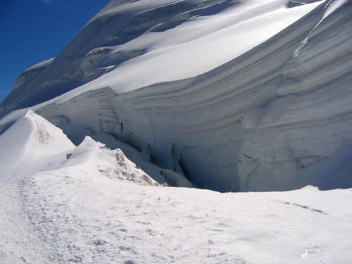Serac on Feegletscher