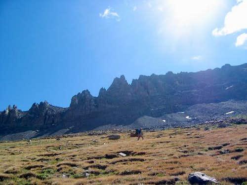 Hiking in the beautiful...