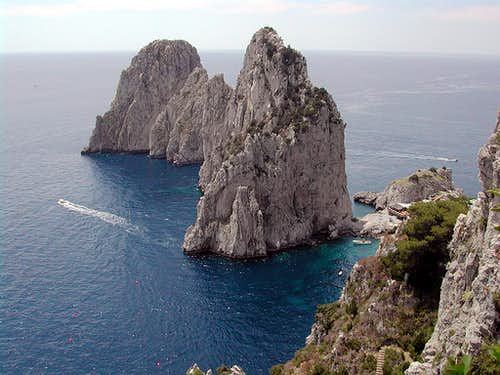 Faraglioni of Capri