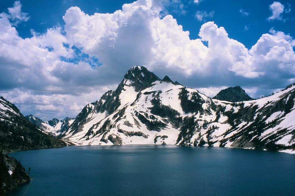 Mount Regan and Sawtooth Lake