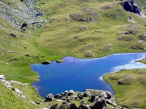 Il lago Pocia (Brusson)