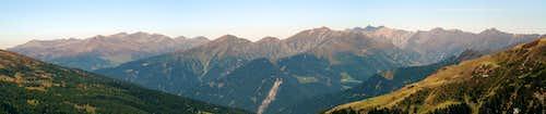 Panorama Tux Alps