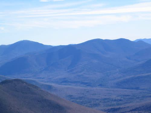 view from Franconia Ridge trail on the way to Mt. Lincoln