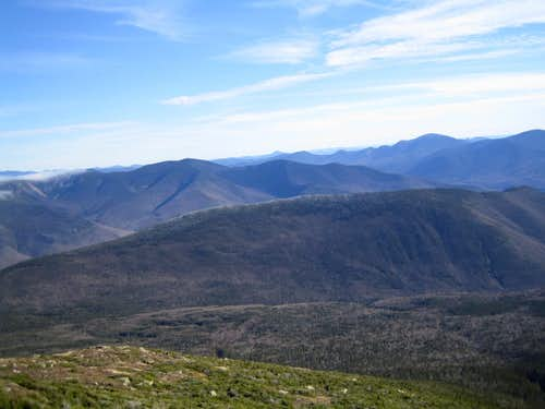 Owl's Head from Franconia Ridge trail