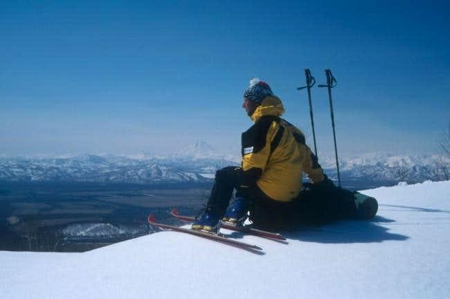 View of Viljuchinskij from...