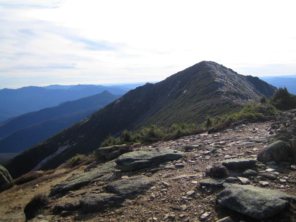 looking back on Mt. Lincoln going towards Lafayette