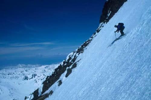 Downhill from Viljuchinskij...