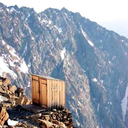 mountain toilet