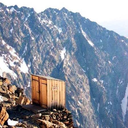 mountain toilet