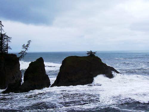 Oregon coast.