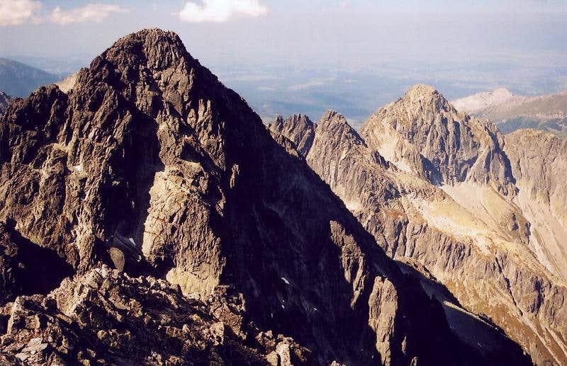 Pysny Stit from Lomnica - High Tatras