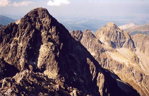 Pysny Stit from Lomnica - High Tatras