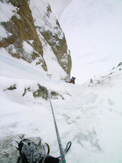 Lower half of Japanese Couloir